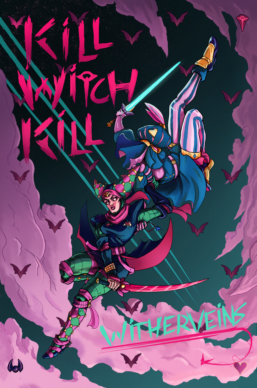 KILL WITCH KILL - BOOK 1: WITHERVEINS